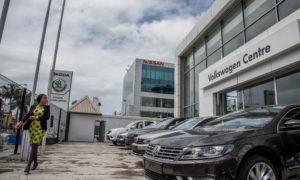 Nissan Showroom, Victoria Island Lagos